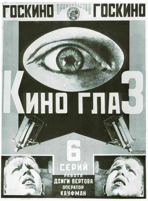 'Cinema Eye', poster, 1924. Found in the collection of the Russian State Library, Moscow.     Photo Credit:   HIP / Art Resource, NY    Image Reference:   AR992592