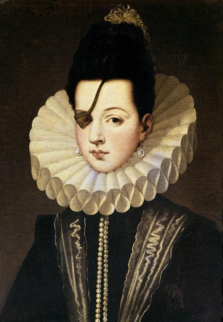 Alonso Sánchez Coello  Ana Mendoza de la Cerda, Princess of Eboli   1540/92   Location:   Private Collection    Photo Credit:   Album / Art Resource, NY    Image Reference:   orz003875