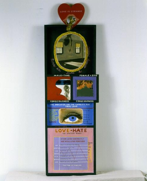 Paul   Laffoley, (1935-2015) © ARS, NY    Love Is Strange . 1965    Photo Credit:   Photo courtesy of Paul Laffoley / Art Resource, NY    Image Reference:   ART525777