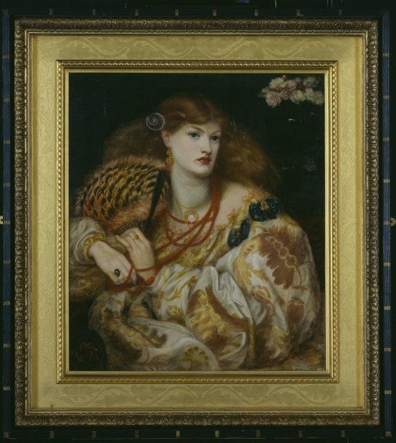 Rossetti, Dante Gabriel (1828-1882)   Monna Vanna. Dated 1866. Oil on canvas, 88.9 x 86.4 cm. Purchased with assistance from Sir Arthur Du Cros Bt and Sir Otto Beit KCMG through the Art Fund 1916 (image M00906).    Location:  Tate Gallery, London, Great Britain    Photo Credit:   Tate, London / Art Resource, NY    Image Reference:   ART511594