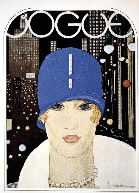 Jazz-Age Flapper, Vogue Magazine, circa 1927    Photo Credit:   JT Vintage / Art Resource, NY    Image Reference:   ART499947