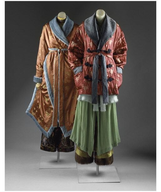 Two Ensembles, Fall/Winter 1994-1995. French. Jackets, belts, trousers, vest, dress, bodysuit. Gift of Richard Martin, 1995 (1995.433.8a-c, .9a-c)    Location:   The Metropolitan Museum of Art, New York, NY, USA    Photo Credit:   Image copyright © The Metropolitan Museum of Art. Image source: Art Resource, NY    Image Reference:   ART396040