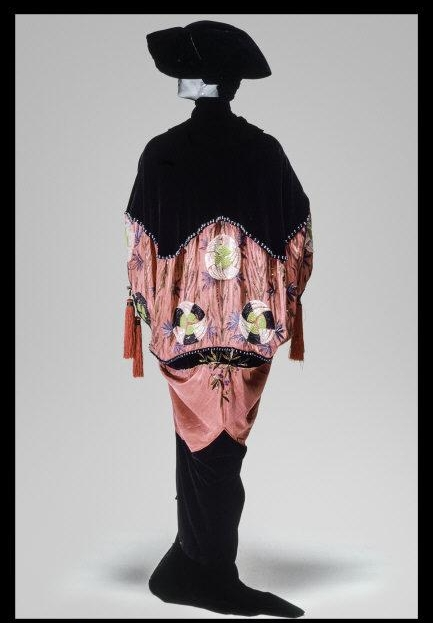 House of Paquin (French, 1891-1956); Designer: Mme. Jeanne Paquin (French, 1869-1936). Opera coat. 1912. Overall view from the back. Silk. Length at Center Back: 60 in. (152.4 cm). The Metropolitan Museum of Art, Gift of Mrs. Edwin Stewart Wheeler, 1956 (C.I.X.56.2.1)    Location:   The Metropolitan Museum of Art, New York, NY, U.S.A.    Photo Credit:   Image copyright © The Metropolitan Museum of Art. Image source: Art Resource, NY    Image Reference:   ART507435