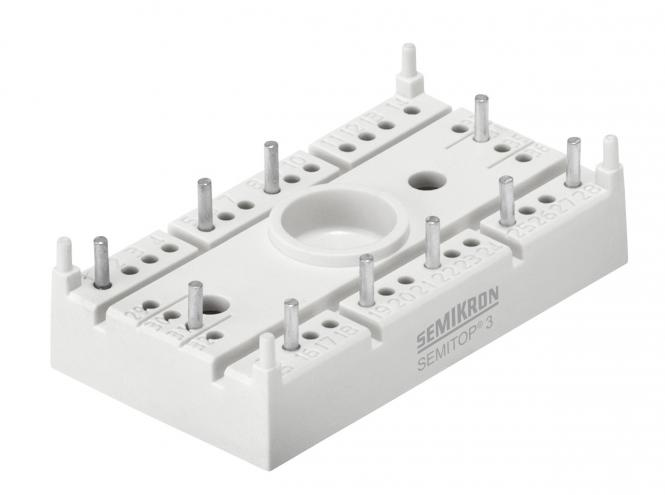 The chosen rectifier bridge;  Semikron SEMITOP® 3 SK 95 DGL 126