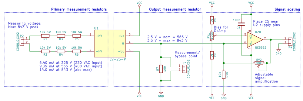 d9bca657ad27 The signal path from left to right  nbsp  Main voltage connection