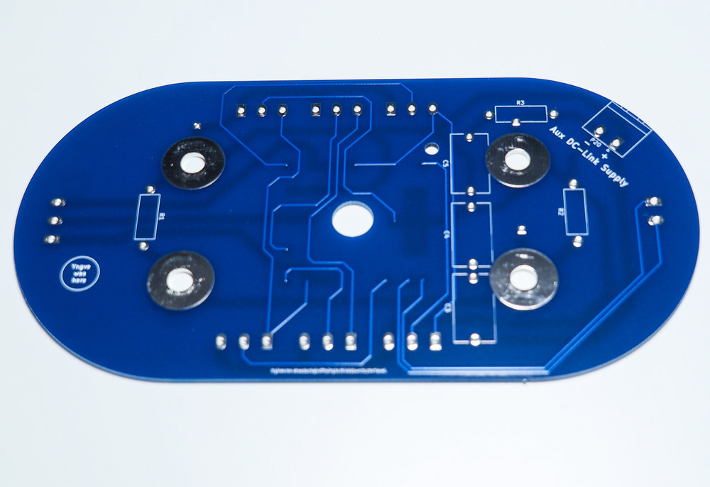Inverter module interface PCB - back