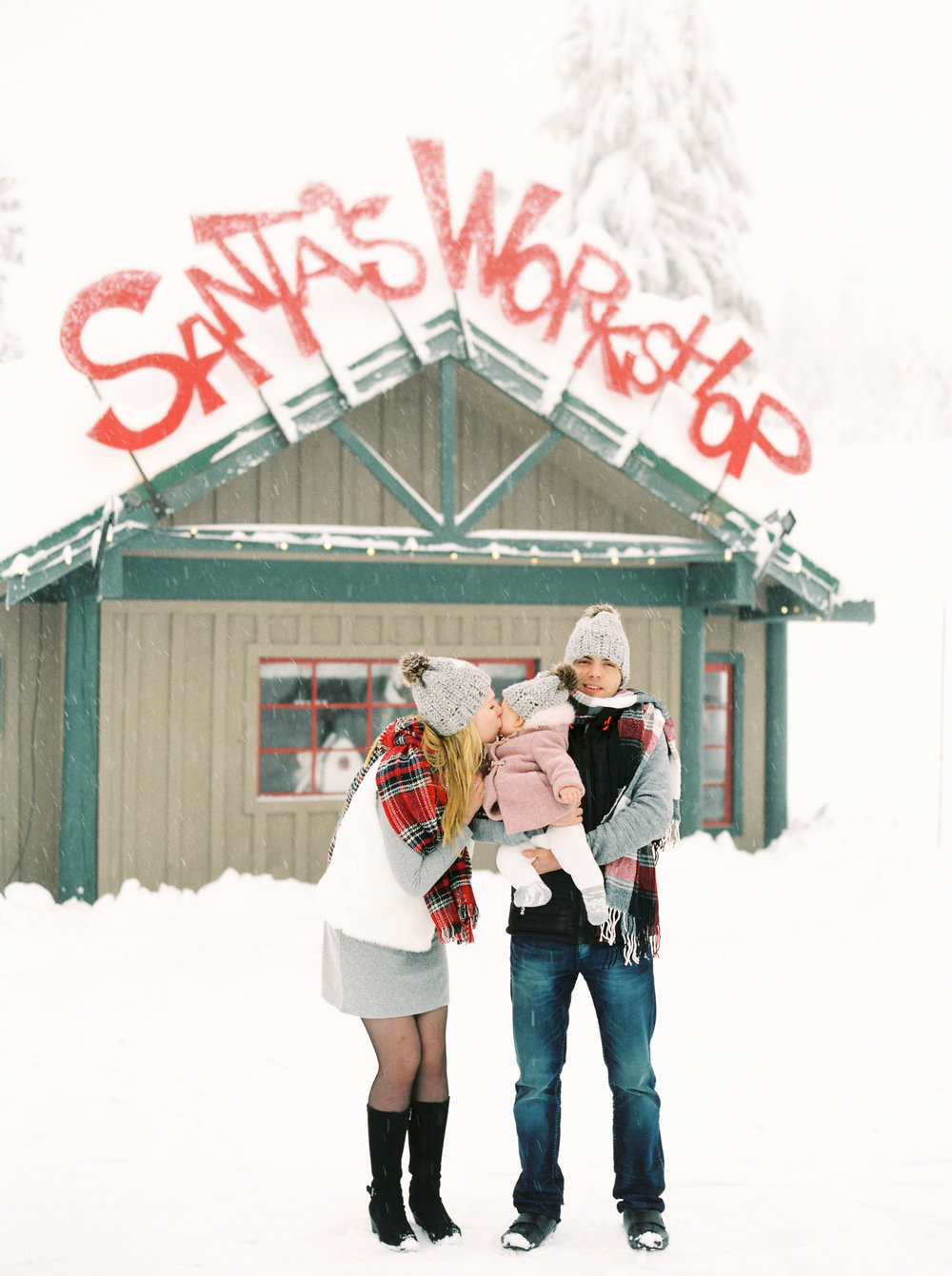 Family Winter Photoshoot on Grouse Mountain