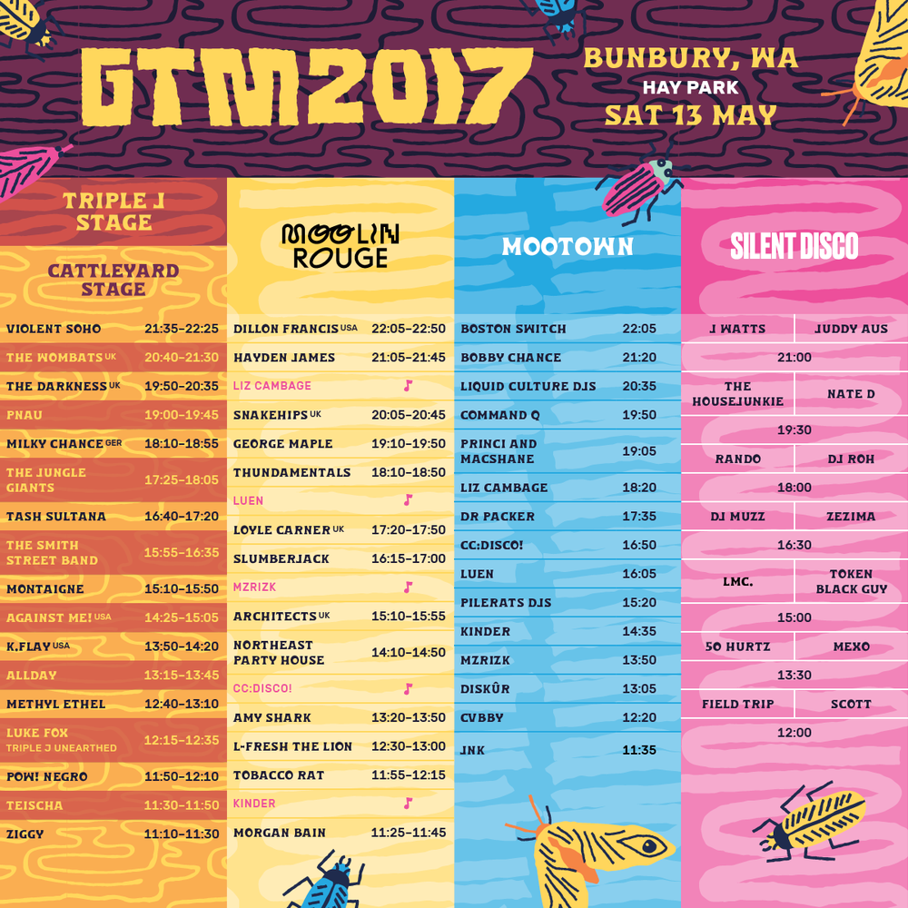 GTM Bunbury set times.png