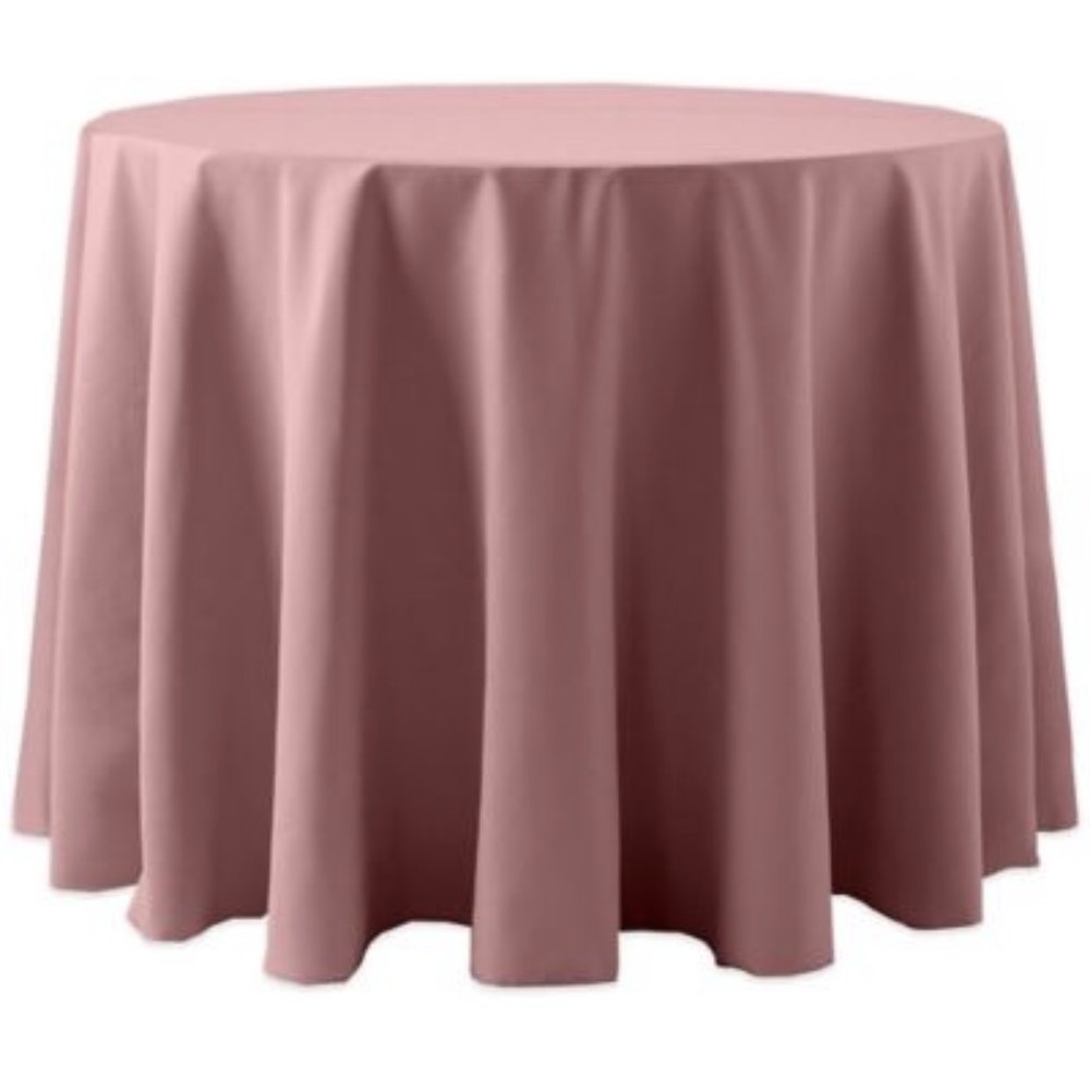 Dusty Pink Polyester