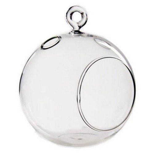 Clear Glass Candle Globe