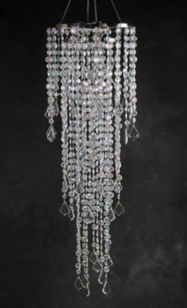 Hanging Crystals Chandelier