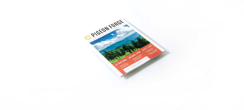 Pigeon Forge Travel and Tourism Guide Cover
