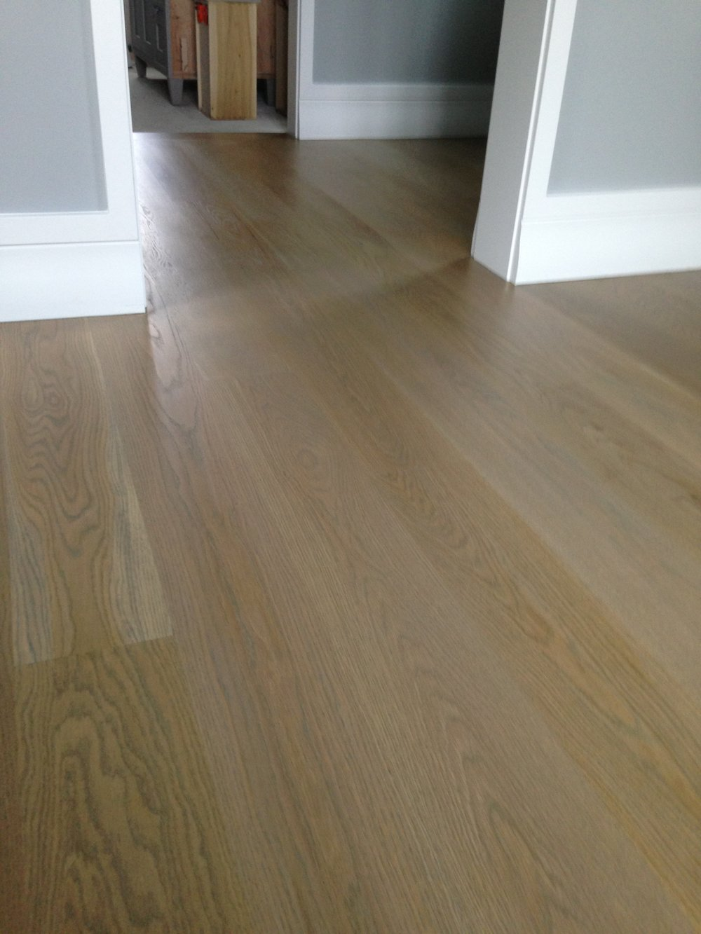 Resurfacing Hardwood Floors Without Sanding Part - 37: When Your Hardwood Floors Are Scratched And Or Damaged Beyond What Our  Sandless Refinishing Process Will Do, We Recommend Our Complete Sanding And  ...