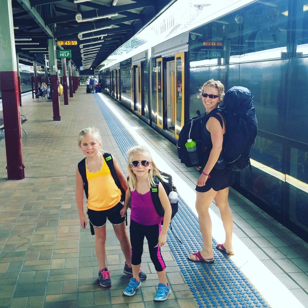 Navigating Sydney's train network!