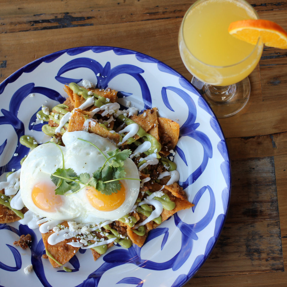 Jefe Brunch - Chilaquiles