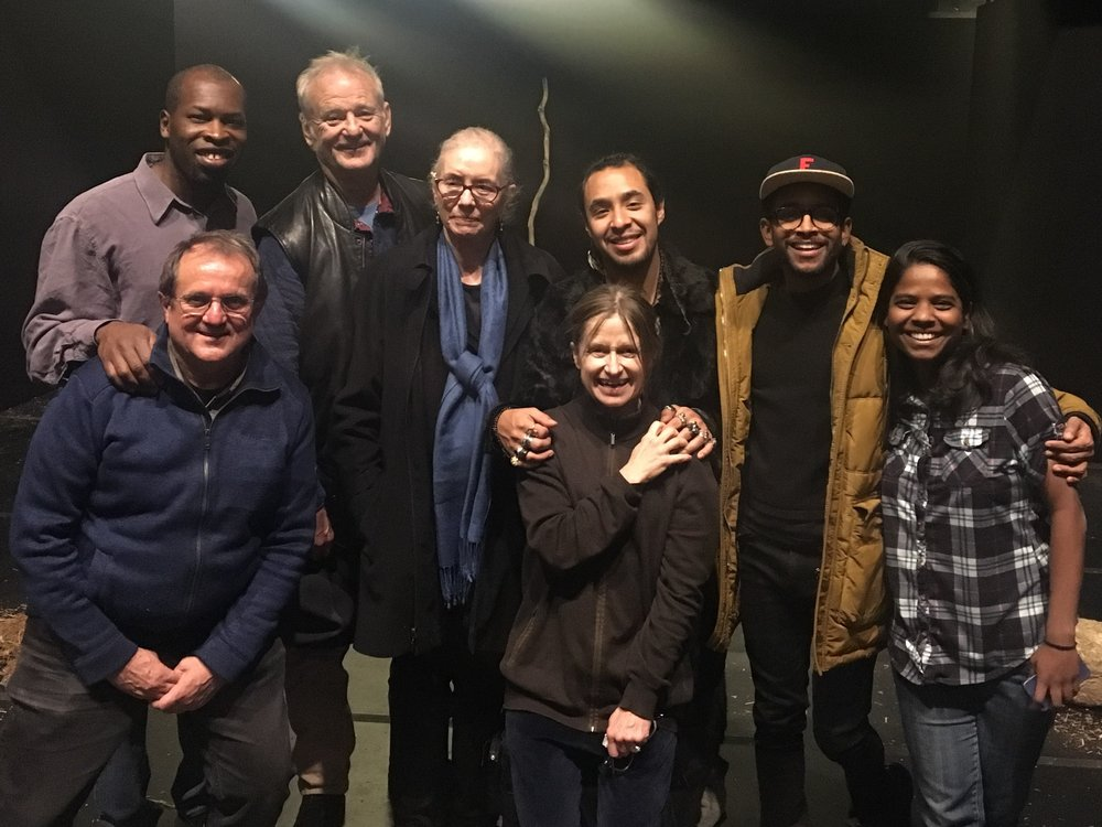 DECEMBER Bill Murray  attended a performance of The Prisoner at The Theatre For a New Audience in New York City. We had the privilege of having dinner with him afterwards.