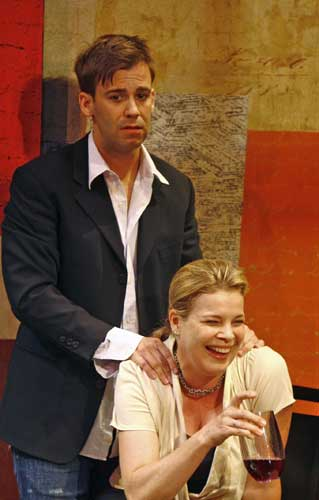 Colby Chambers and Catherine Curtain in FATHER'S DAY. Photo by Carol Rosegg. Summer Shorts 2007.
