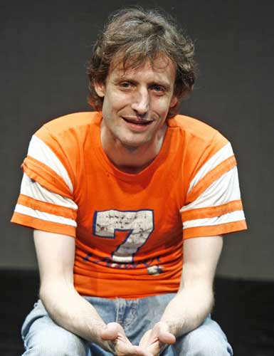 Ean Sheehy in THE P.A. Photo by Carol Rosegg. Summer Shorts 2007.