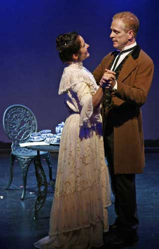 Ann Talman and John Hickok in AFTERNOON TEA. Photo by Carol Rosegg. Summer Shorts 2007.