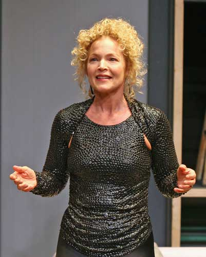 Amy Irving in THE WATERS OF MARCH. Photo by Carol Rosegg. Summer Shorts 2008.