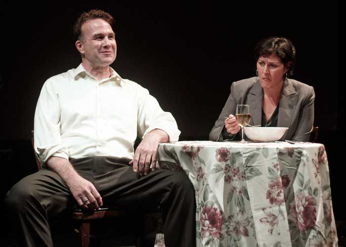 Ted Koch and Maryann Towne in IN THIS, OUR TIME... Photo by Rahav Segev. Summer Shorts 2011.