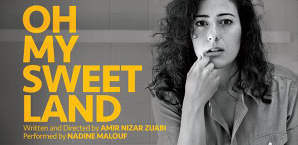 Congratulations to Nadine Malouf (SS'16:  This Is How It Ends ) on completing her sold-out run of  Oh My Sweet Land , presented by Play Co.