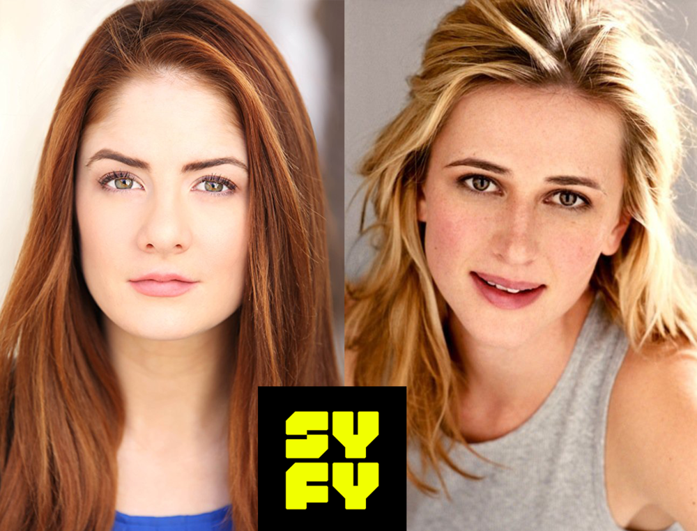 Emily Tremaine (SS'09:  If I Had ) and Megan Ketch (SS'11:  Clap Your Hands ) just wrapped the Syfy pilot  Tremors , a reboot of the 1990 film starring  Kevin Bacon .