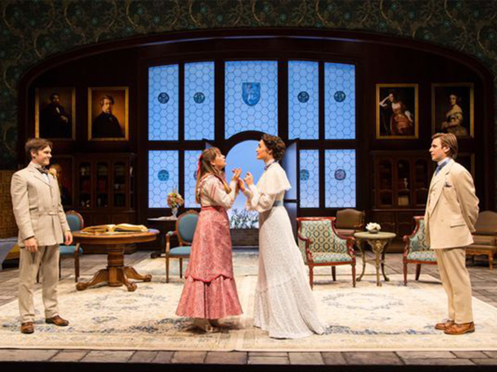 Sam Lilja (SS'17:  Acolyte ) appears in Two River Theater's production of  The Importance of Being Earnest  as   Algernon Moncrieff, now running until December 3rd. Click  here  to purchase tickets.