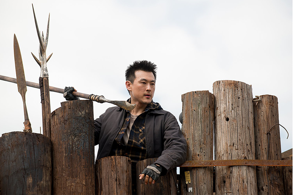 Tune in to watch James Chen (SS'11:  The New Testament ) in his recurring role on the latest season of  The Walking Dead .