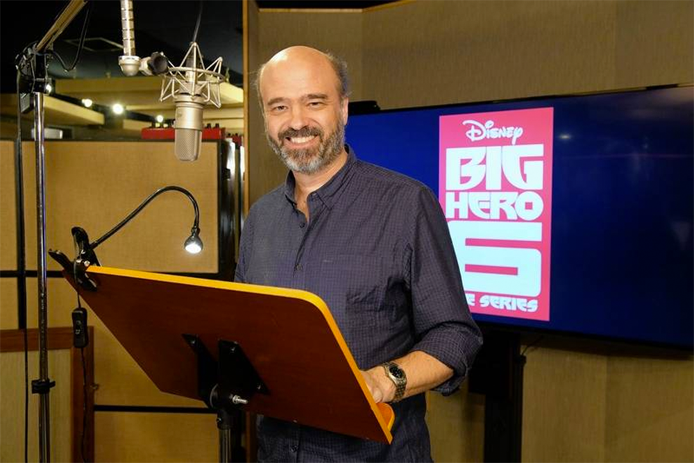 Scott Adsit (SS'10:  Happy ) will reprise his role as Baymax in the sequel of  Big Hero 6  the series.