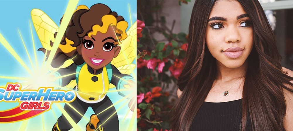 Check out Teala Dunn (SS'09:  The Sin Eater ) in her featured role on  DC Super Hero Girls , the series. She also will be appear in the same role in the  Lego DC Super Hero Girls: Super Villain High  movie, set to release in May.