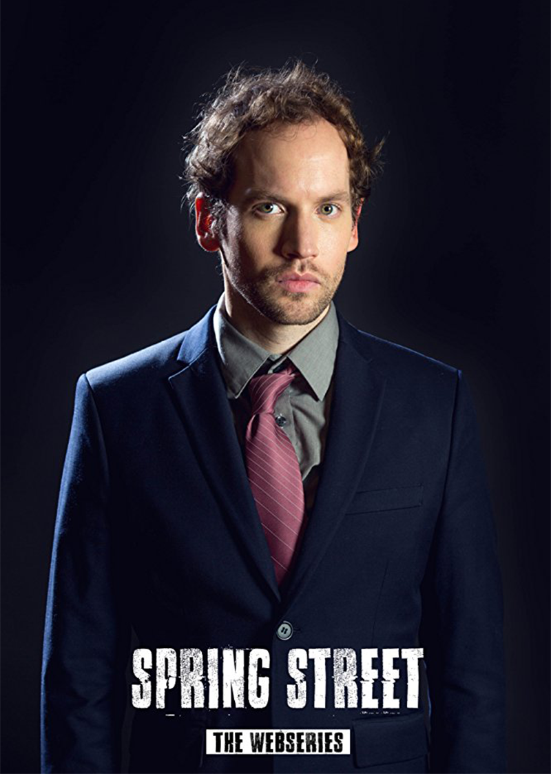 Tune in to watch David Beck (SS'14:  Doubtless ) in his featured role on  Spring Street .