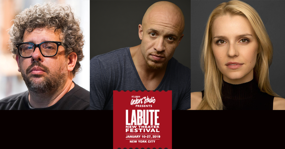 St. Louis Actors Studio presents  LaBute New Theater Festival , running January 10-27 at the Davenport Theater. The festival features alums Neil LaBute (SS'07-18), Gia Crovatin (SS'13:  Good Luck in Farsi ) and KeiLyn Durrel Jones (SS'18:  Sparring Partner , SS'17:  Break Point ). Discount code for $25 tickets is LABUTE25. To purchase tickets, click  here .