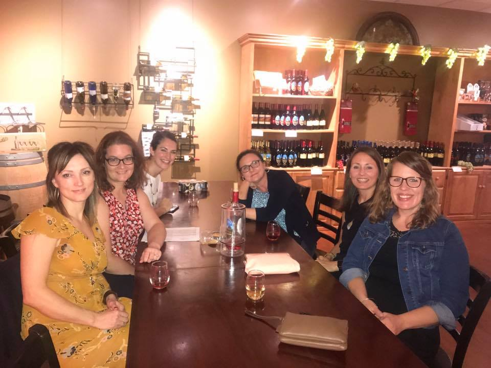 The October Women's Winery Night.