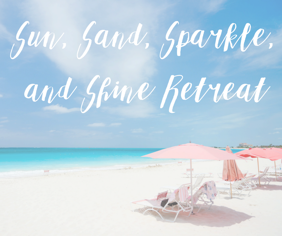 Join us for an ALL INCLUSIVE retreat where you'll spend time healing your hurt and finding glittering confidence! Click for more details!  Where: Indian Rocks Beach, Florida  When: May 21-24