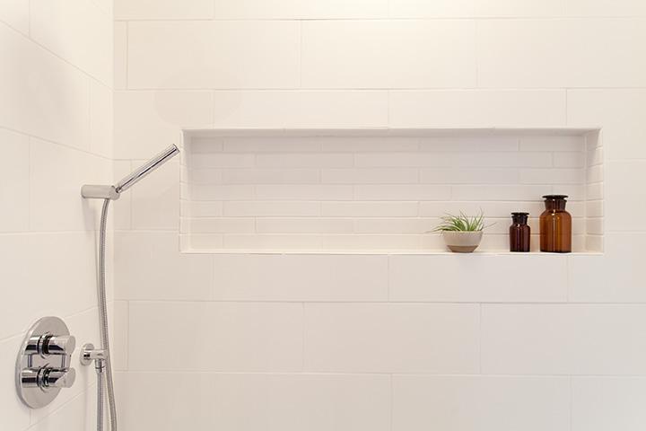Mid-Century Modern Shower Niche