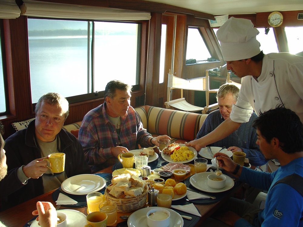 Breakfast  with guests and chef.jpg