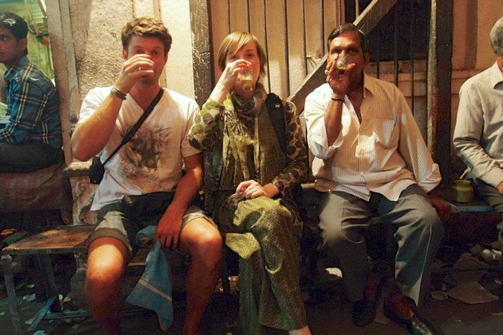 With Chai Friends in Jodhpur,  India (2012)