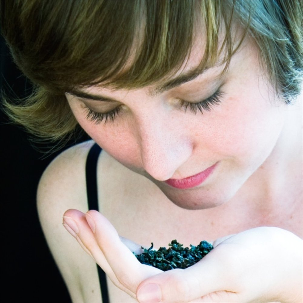 Lindsey Appreciating Oolong Tea, 2009