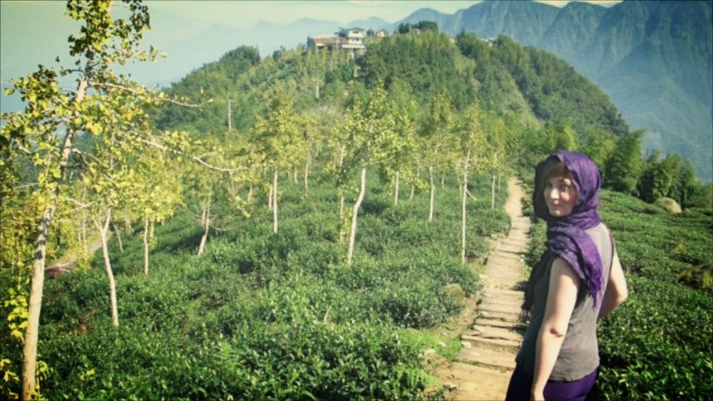 """I don't regret a single investment I made in my tea business when it comes to learning through travel!"" (Lindsey in San Lin Xi, Taiwan, 2011)"