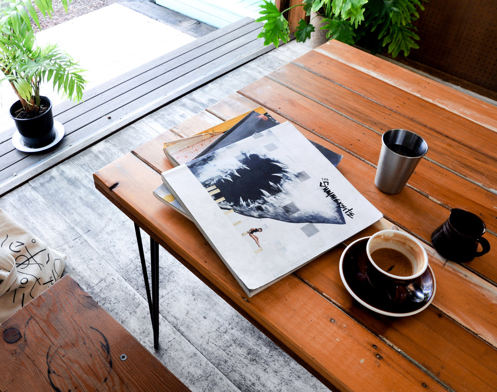 Coffee + Lifestyle Magazines at Folk