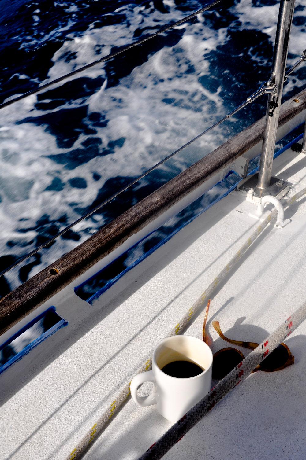 Coffee Break on Board