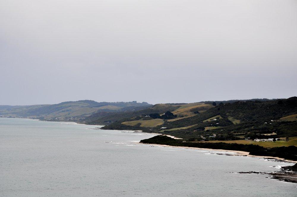 Moody Great Ocean Road
