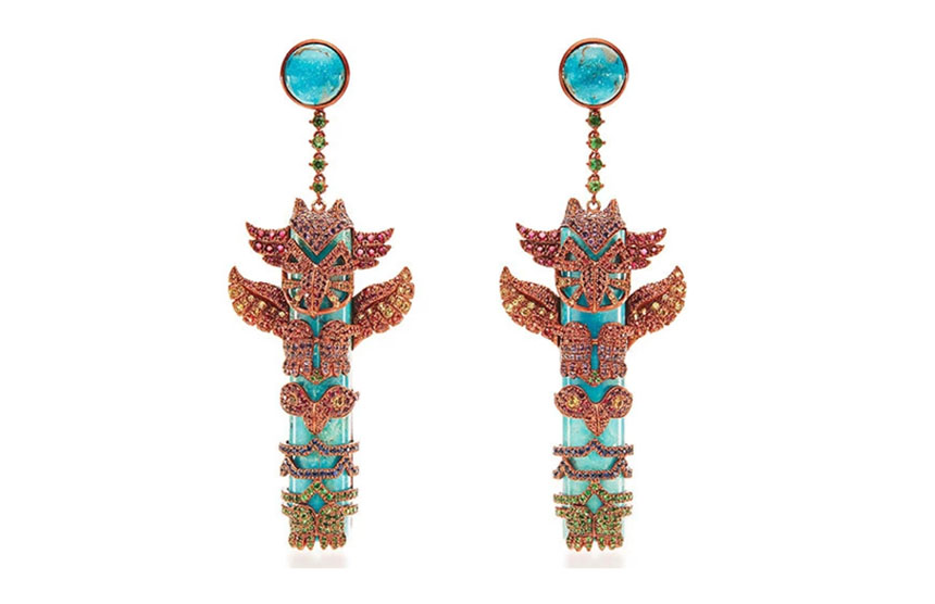 Totem Pole Earrings