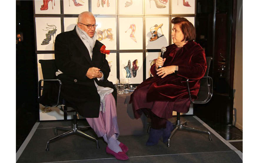 In conversation with Vogue International Editor Suzy Menkes
