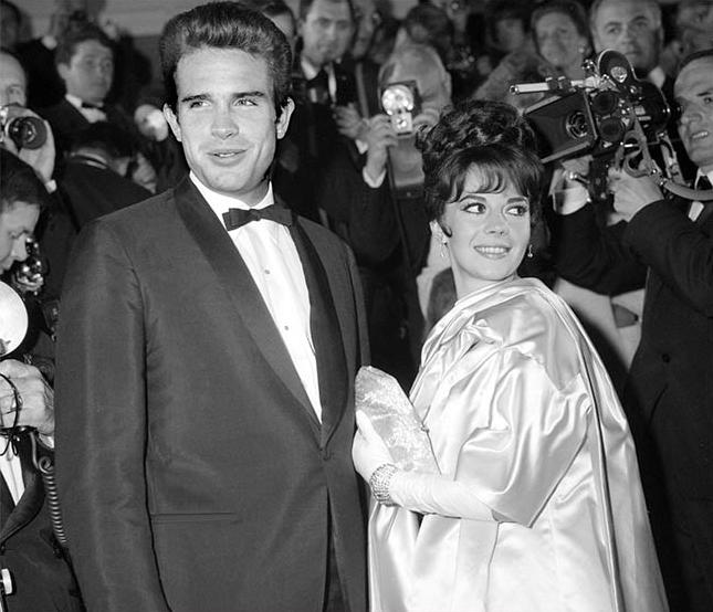 Natalie Wood & Warren Beatty 1962