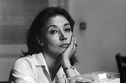 Italian journalist Oriana Fallaci