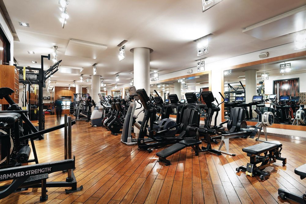 The world s most luxurious gyms — carmen busquets