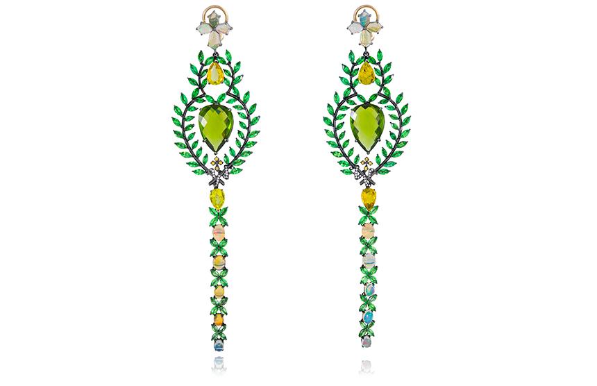 Earrings, 'Queen of Sheba', POA