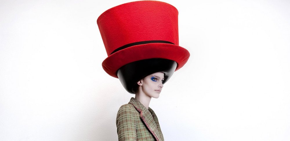 Walter van Beirendonck  / Hat Stephen Jones / autumn-winter 2010-2011 © Ronald Stoops